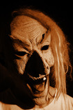 scary mask poster