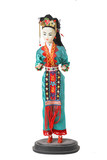 tall japanese doll poster