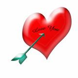 love you valentine poster