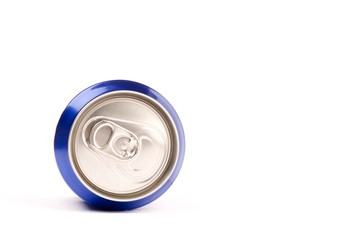 can of soda, isolated on white background