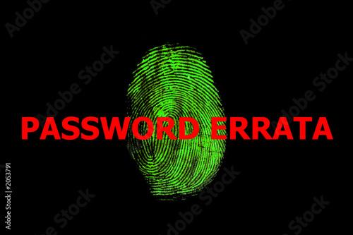 password errata poster