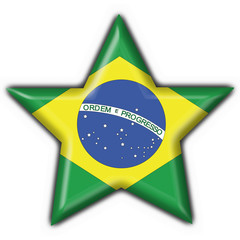 bottone stella brasiliano - brazil star flag