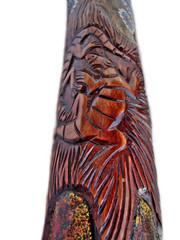 didgeridoo  detail