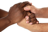 handshake mezi závody