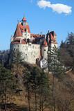 bran castle, romania poster