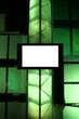 blank presentation monitor