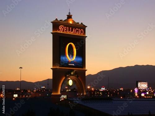 Plexiglas Las Vegas las vegas bellagio hotel o show