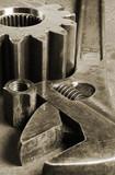 antique tool idea poster