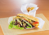 junk fast food poster