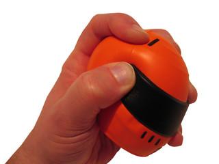 helmet stress ball