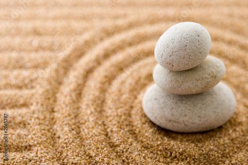 Leinwanddruck Bild stones
