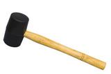 rubber hammer poster