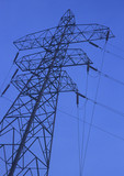 electricity pylon poster
