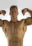 bodybuilding cliche poster