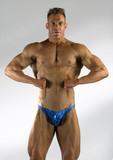 standard bodybuilding pose poster
