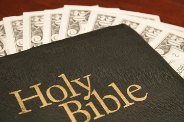 holy bible & money
