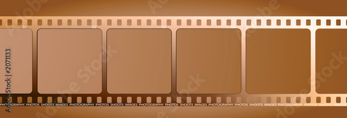 brown film outline gradient