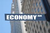 economy avenue, concept photo poster