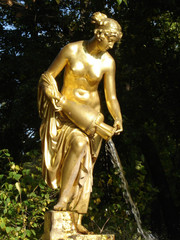 sculpture in peterhof russia