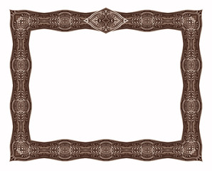 antique border 6 - with crest
