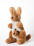 homemade kangaroo toy poster