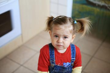 unhappy child