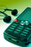 mp3 phone-enjoy mobile music poster