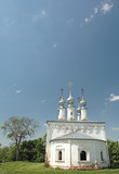 old church in suzdal (russia) poster