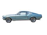 classic american sportscar