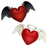 love - good and evil poster