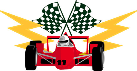 racing graphic