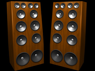 mega speakers