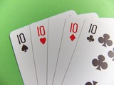 poker - four of a kind poster