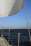 sailing on ijsselmeer in holland poster