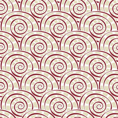 seamless swirly pattern