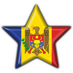 bottone stella moldavo - moldova star button flag
