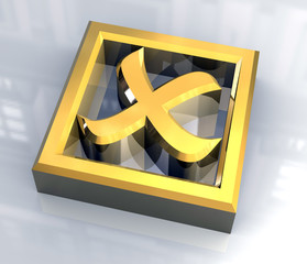 simbolo spunto ko in oro