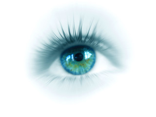 oeil vision cyan