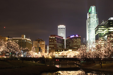 omaha city lights