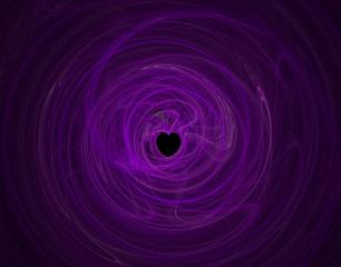love fractal background.