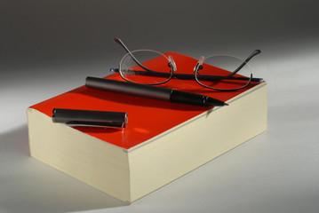 livre et stylo