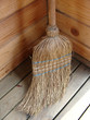 wicker broomstick