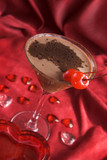 chocolate martini cocktail