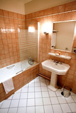 salle de bains - hôtel poster