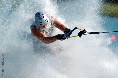 Fototapete Wassersport - Motorboot - Wasserskooter - Poster - Aufkleber