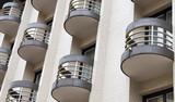 hotel balconies poster