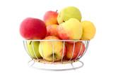 basket full of apples poster