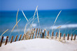 Leinwandbild Motiv lake sand dunes