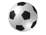 rotated soccer ball