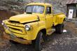 Leinwandbild Motiv old pick up truck